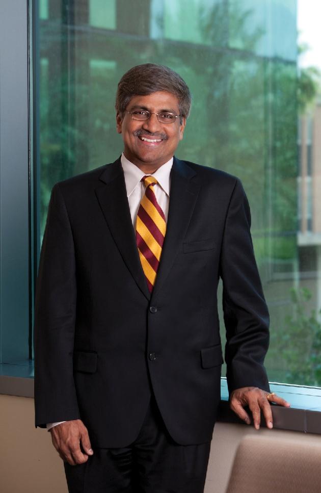 Sethuraman Panchanathan, a senior administrator at Arizona State University