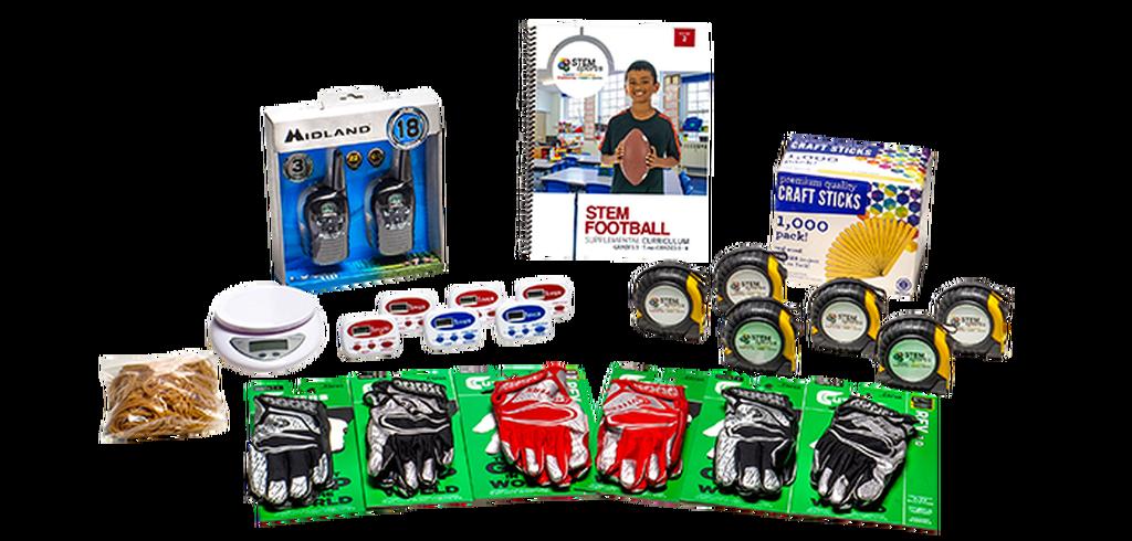 STEM Football No Sports Equipment Kit